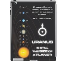 Uranus is the size of a planet iPad Case/Skin