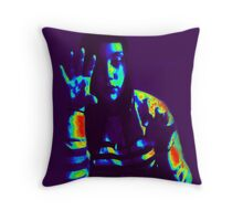 """""""I'M NOT LISTENING -  TALK TO THE HAND"""" THROW PILLOW AND TOTE BAG Throw Pillow"""