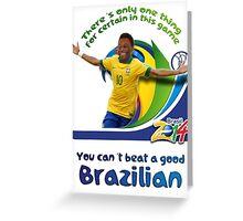 You can't beat a good Brazilian Greeting Card