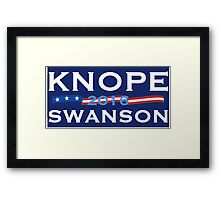 Knope Swanson 2016 Framed Print