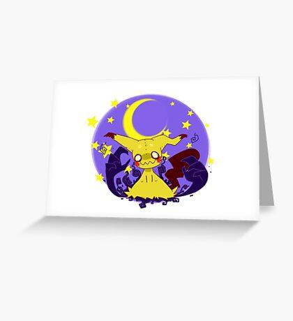 Mimikyuu! - Pokemon Sun & Moon Greeting Card