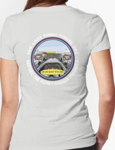 Daniel RICCIARDO_HungarianGP VIctory_2014 Womens Fitted T-Shirt