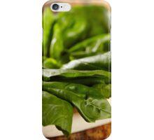Basil leaves iPhone Case/Skin
