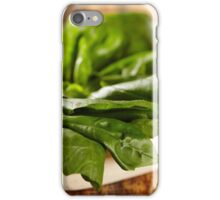 Basil leaves iPhone Case/Skin