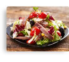Tuna salad Canvas Print