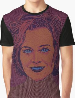 Icons - Sigourney Weaver Graphic T-Shirt