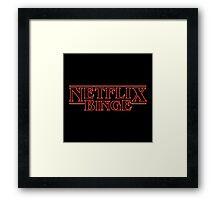 Netflix Binge Framed Print