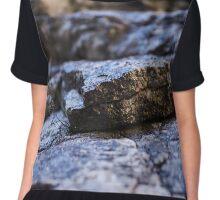 Sedimentary rocks background Chiffon Top