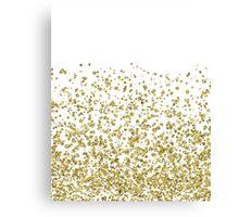 Gilded confetti Canvas Print