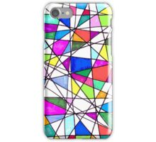(Imperfect) Color Fiesta Abstract iPhone Case/Skin