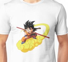kid goku on nimbus Unisex T-Shirt
