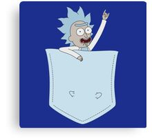 pocket rick Canvas Print