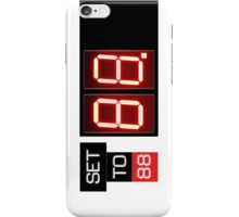 88MPH iPhone Case/Skin