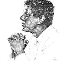 J. F. Kennedy by GPiggott