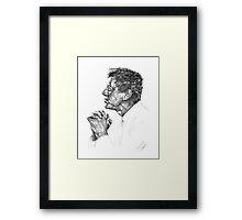 J. F. Kennedy Framed Print