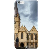 Medieval cathedral iPhone Case/Skin