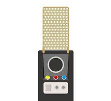 star trek: the original communicator by inakim
