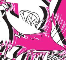 SKETCH MONSTER: PINK SKULL Sticker