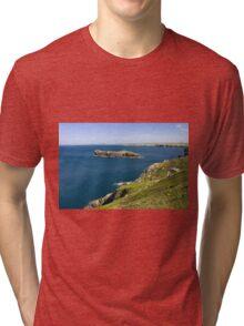 The Cornish coastline Tri-blend T-Shirt