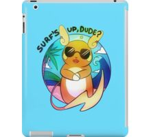 Surfin' Raichu iPad Case/Skin