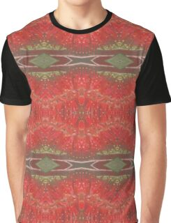 Bottle brush floral pattern Graphic T-Shirt
