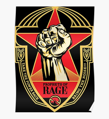 BNR05 Prophets of Rage - Make America Rage Again Tour 2016 Poster