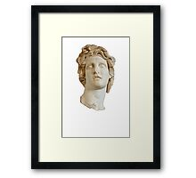 Helios Bust/Macintosh Plus Framed Print