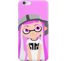 Splatoon - Inkling girl Pink HD (Actualized 08/13/2016) iPhone Case/Skin