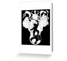 Mortal Enemies  Greeting Card