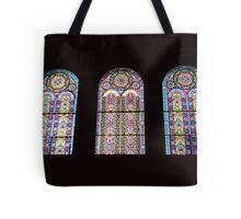 Colorful window Tote Bag