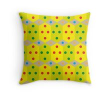 Geometric 2 - Cube Throw Pillow
