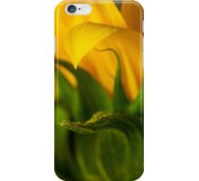 helianthus Macro iPhone Case/Skin