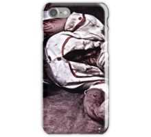 silent nurse iPhone Case/Skin
