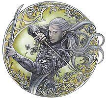 Warrior of Mirkwood by jankolas
