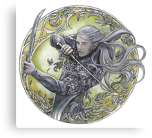 Warrior of Mirkwood Canvas Print
