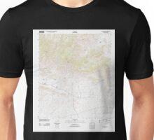 USGS TOPO Map Arizona AZ Dos Cabezas 20111122 TM Unisex T-Shirt