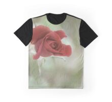The Rose Speaks of Love Silently Graphic T-Shirt