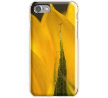 sunflower macro iPhone Case/Skin
