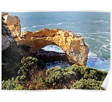 Limestone Arch Poster