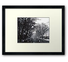 SNOW-DOME VILLAGE - ARROWTOWN New Zealand Framed Print