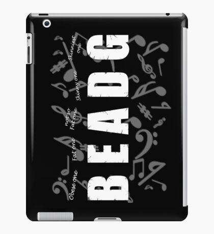 Bass Player iPad Case/Skin