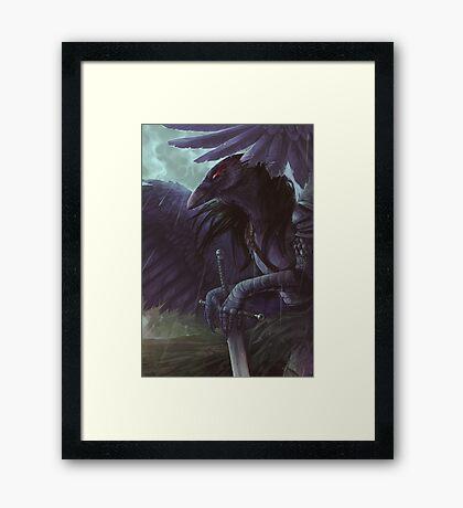 Morrigane Framed Print