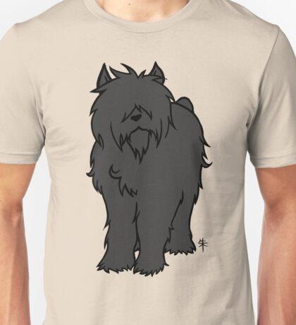 Bouvier des Flandres - Black Unisex T-Shirt