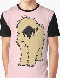 Bouvier des Flandres - Fawn Graphic T-Shirt