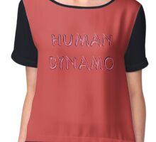 Human Dynamo Chiffon Top