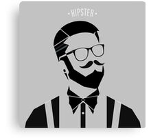 Hipster Men 2 Canvas Print