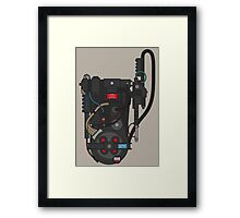 Don't Cross The Streams! Framed Print