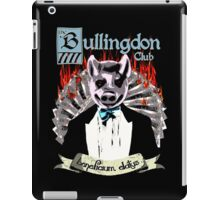 the Bullingdon Club iPad Case/Skin