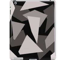 Gray pattern iPad Case/Skin