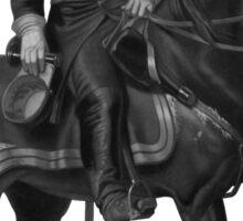 General Grant On Horseback Sticker